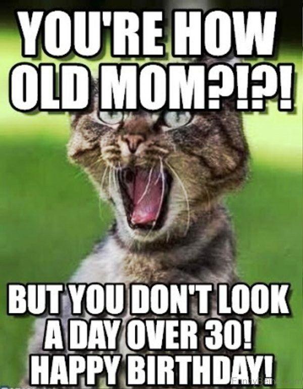 Express The Symbol of Gratitude with Happy Birthday Mom Memes