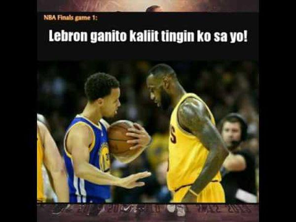 NBA Memes Funny Warriors Steph Curry Lebron James NBA Finals Memes