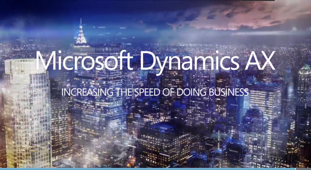 Dynamics 365 for Operations
