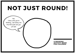 Front cover image of not just round