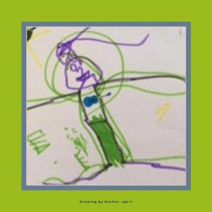COVID school readiness blog - Rachel drawing
