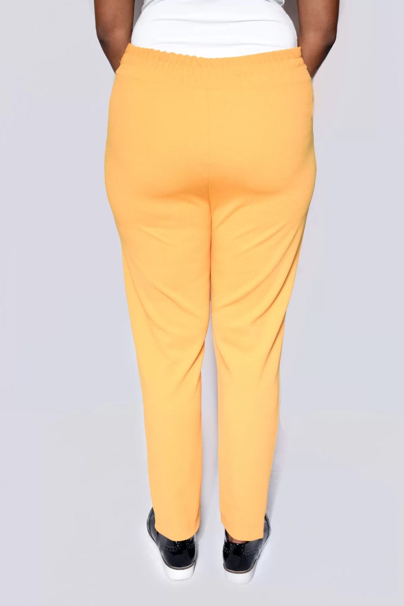 geel broek dames