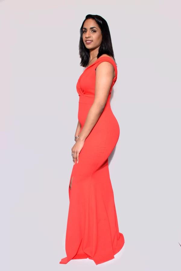 rode jurk dames