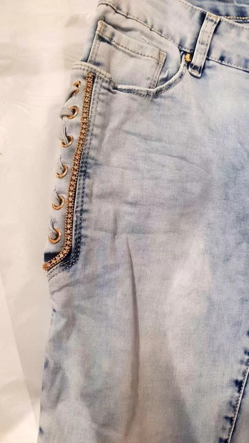 blauwe broek dames