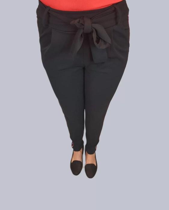 zwarte legging broek dames