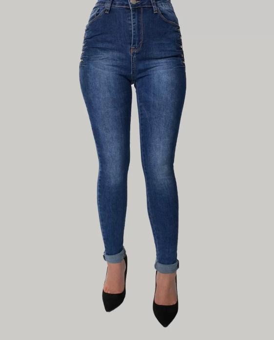 blauw-hoge-spijkerbroek-dames
