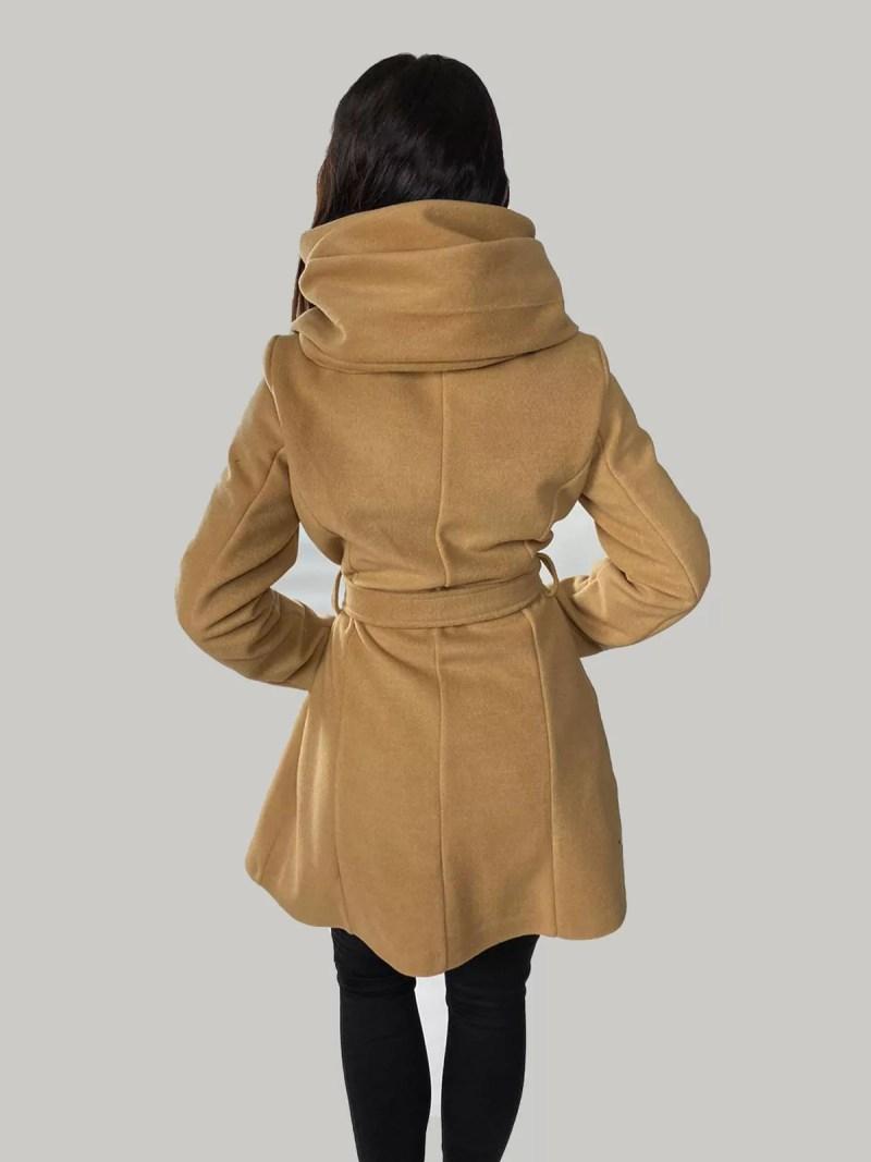 terug bruin jas