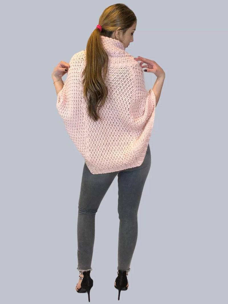 65 Korte Wollen Poncho