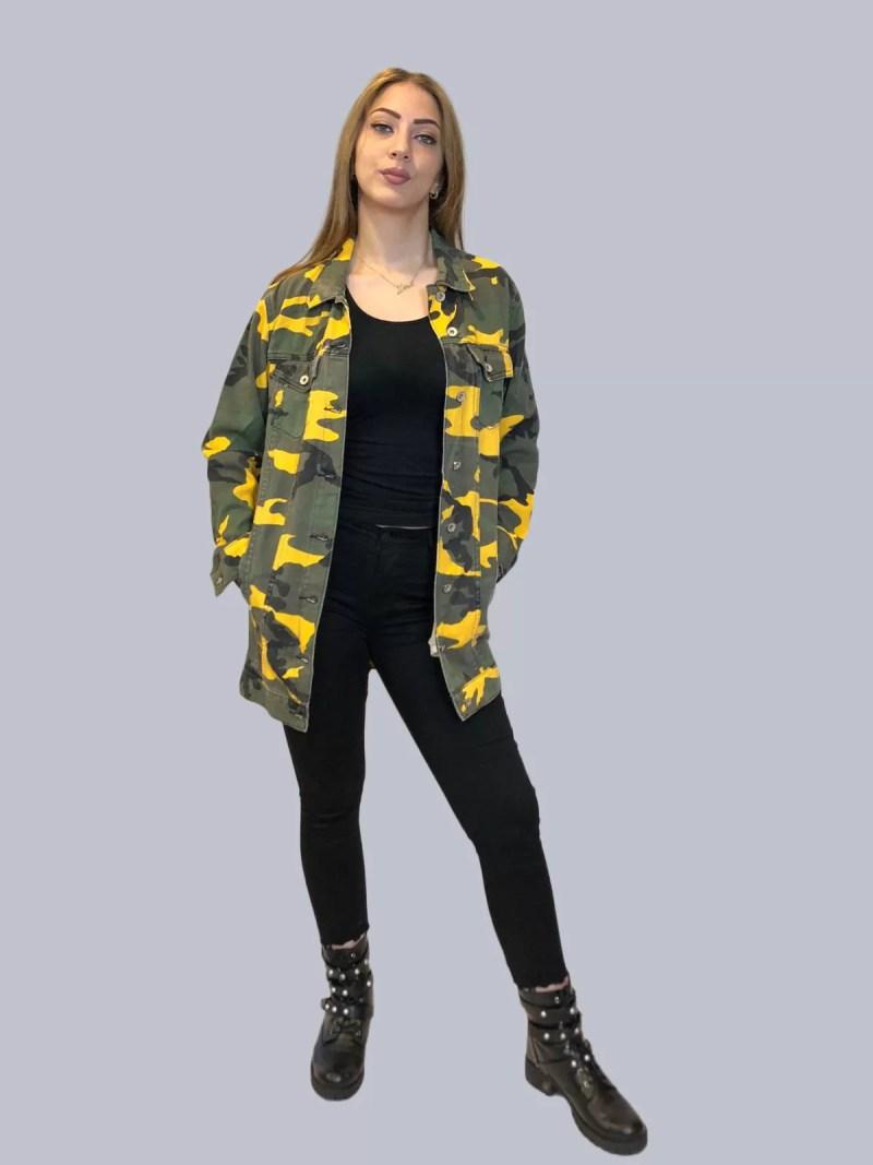 Spijker leger jas
