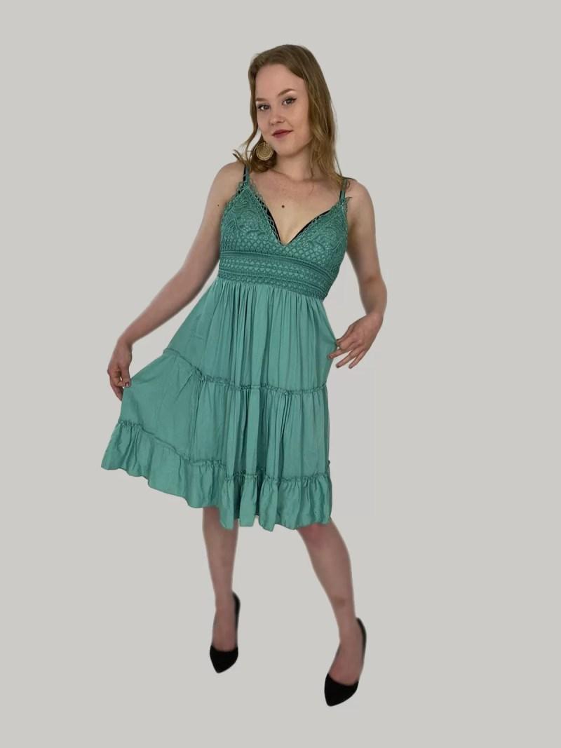 groen-zomers-jurkje