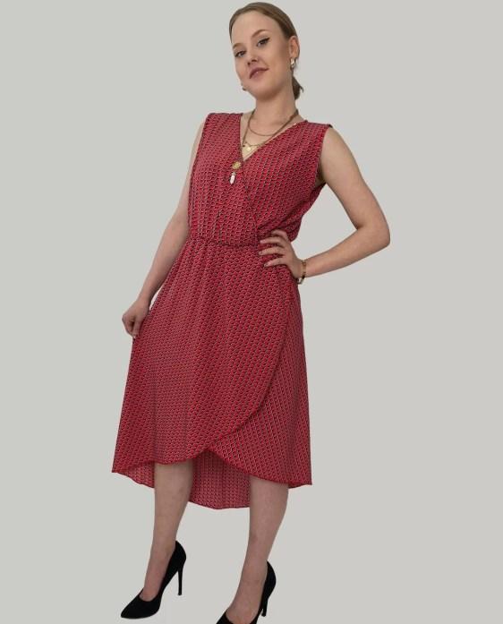 rood-jurk