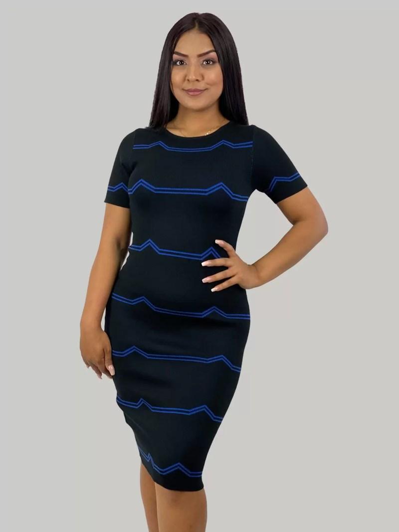 Wollen-Gebreid-jurk