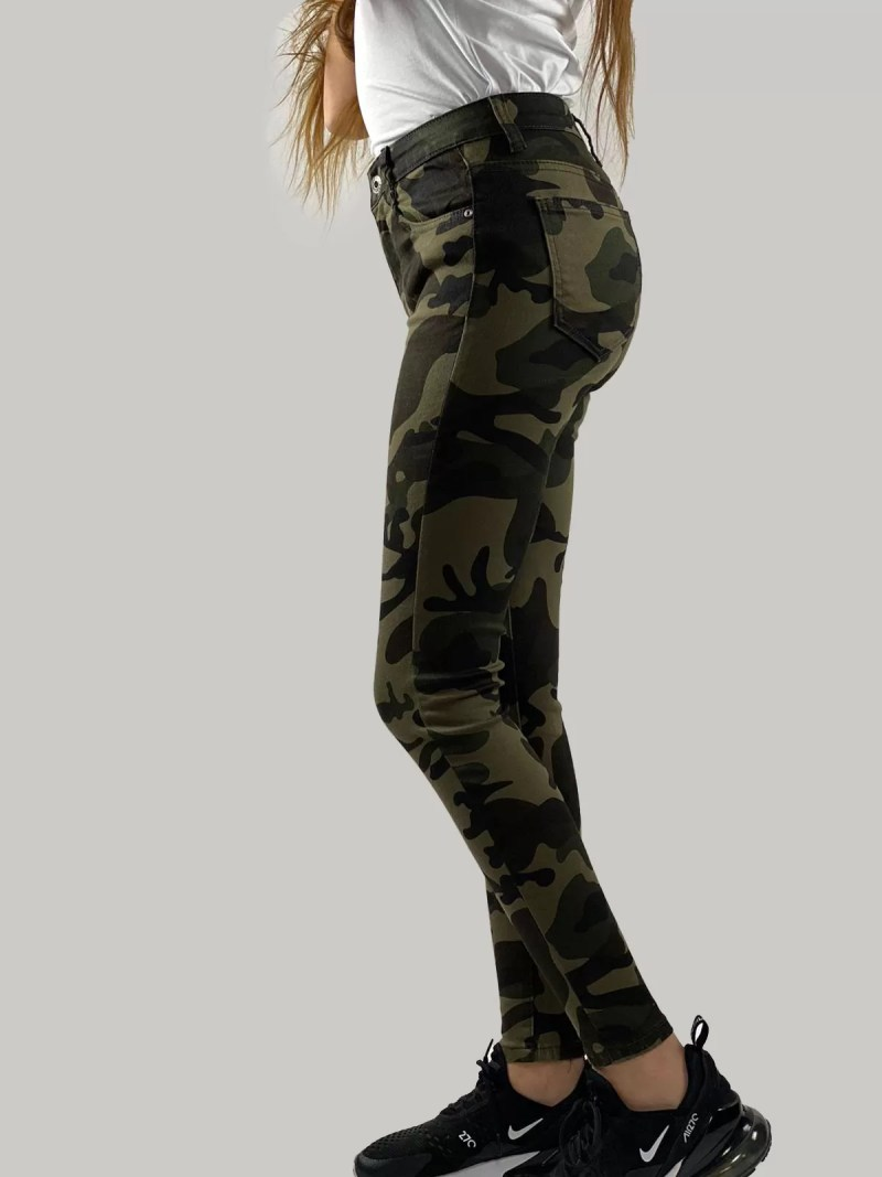 Camouflage Broek=dames