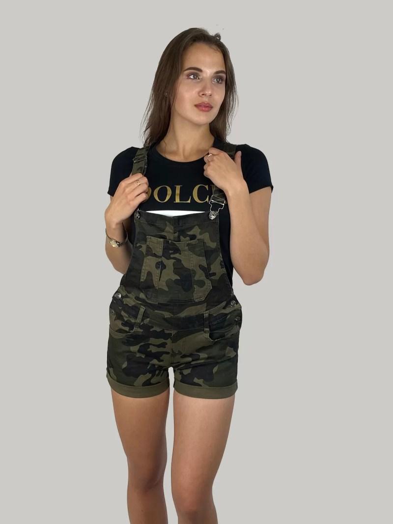 Camouflage-Tuinbroek