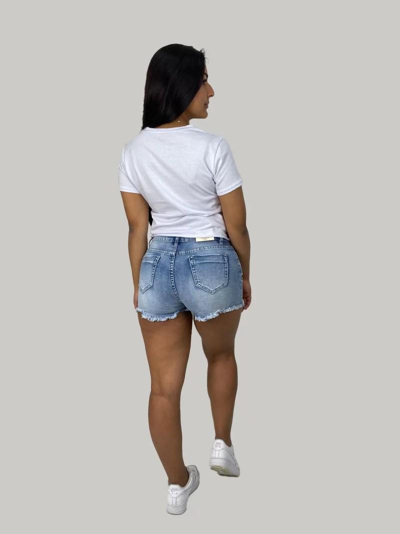 terug-Korte-spijkerbroek