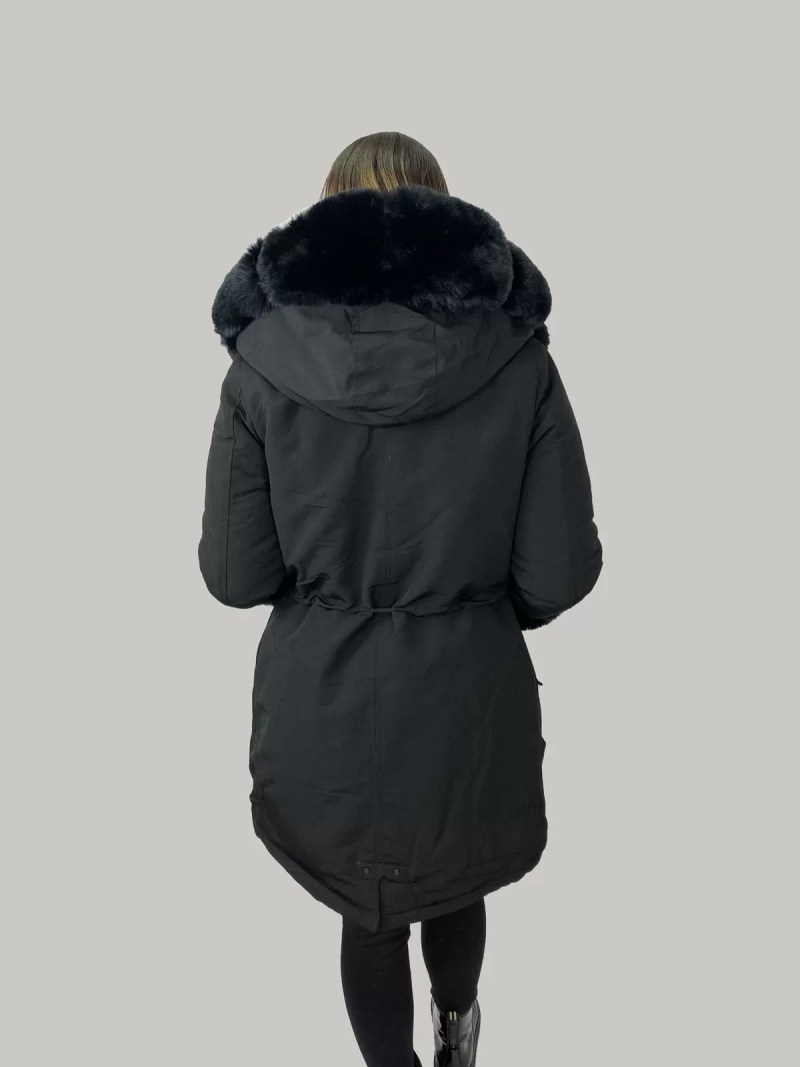 NV 20 449 min Furry Sleeve Jacket- Dames