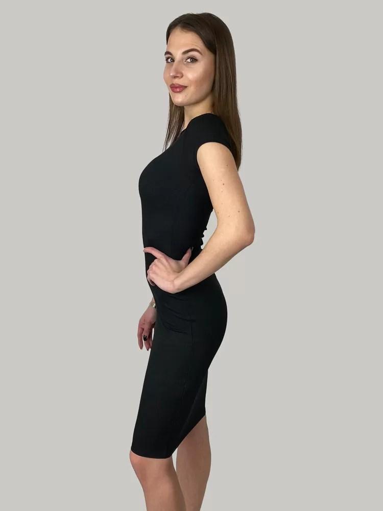 basic jurk zwart Basic jurk