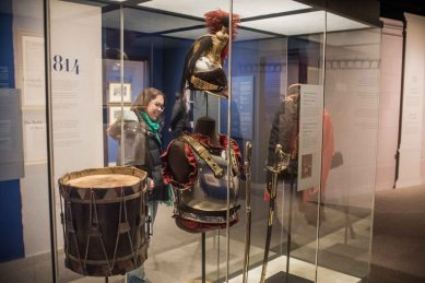Real armour, and the real drum.