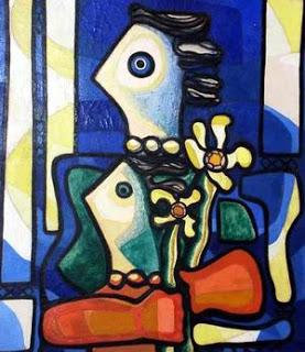 Mujeres (1958), by Amelia Peláez