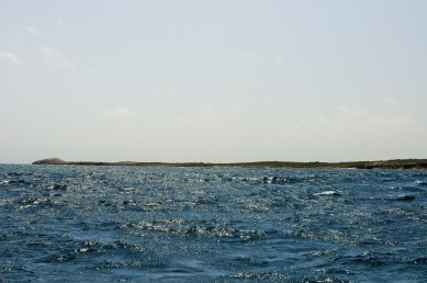 To the west, the easternmost point of Anguilla would have looked like this