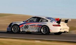 Memo Gidley and the Motorsports Solutions Porsche team took home the overall victory in the 2012 25 Hours of Thunderhill.