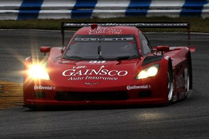 "The #99 ""Red Dragon"" of GAINSCO/Stallings Racing at the 2013 Roar Before the 24 at Daytona. (Photo: Grand Am)"