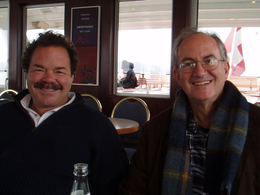 Ken and Gary