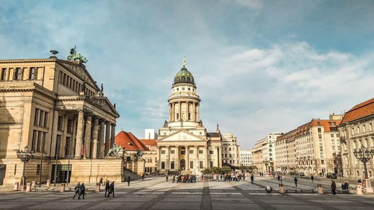 La place de Gendarmenmarkt à Berlin
