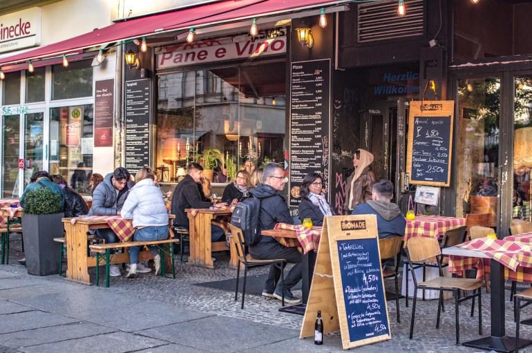 Pizzeria pas chère à Prenzlauer Berg, Berlin