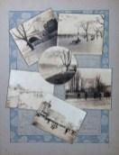 Photographies prises et enluminées par Léopold