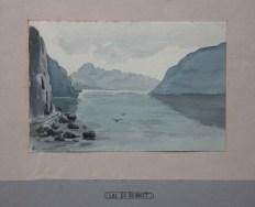 Le lac du Bourget par Marthe