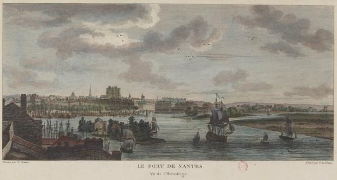 Le port de Nantes en 1776