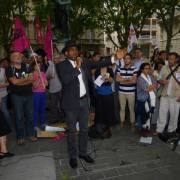 Hommage à Clément Méric, lâchement assassiné par l'extrêmisme