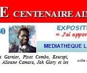 CLÔTURE DU CENTENAIRE AIME CESAIRE: Soirée littéraire à la Médiathèque de Mérignac