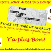 FLASH MOB, plantation coloniale,12 mars à Bordeaux- Rebaptiser les rues de négriers/ Elections Municipales 2014