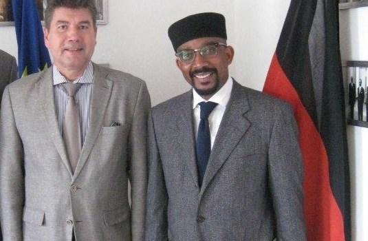 SENEGAL- l'Ambassadeur d'Allemagne reçoit le président de l'AIMP