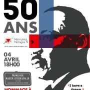 MARTIN LUTHER KING – un hommage pour réaliser le rêve d'Egalité du Pasteur