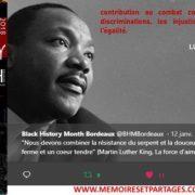 EN VIDÉO – Le 1er Black History Month Bordeaux