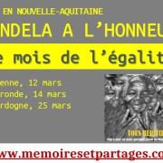 MOIS DE L'ÉGALITÉ – Mandela à l'honneur en Nouvelle-Aquitaine