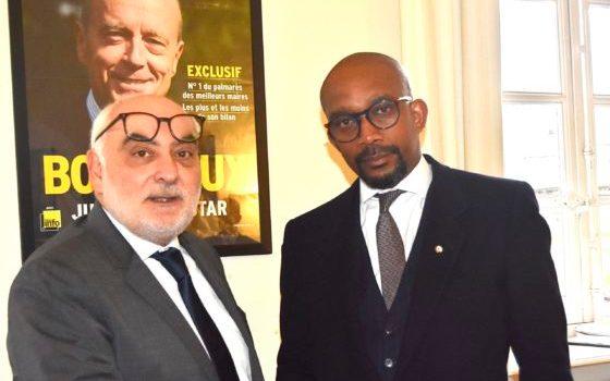 MÉMOIRE DE L'ESCLAVAGE- Les excuses du directeur de cabinet du Maire de Bordeaux Ludovic Martinez