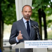 LE HAVRE – Edouard Philippe annonce le 1er groupe de travail sur la mémoire de l'esclavage et du racisme