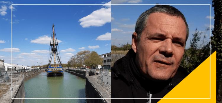 ROCHEFORT – L'histoire cachée du premier port-arsenal négrier racontée par Christophe Cadiou (vidéo)