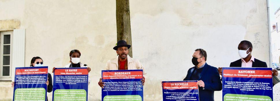 RUES DE NÉGRIERS – A La Rochelle pour lancer #balancetonnegrier : rajouter du sens à l'espace public