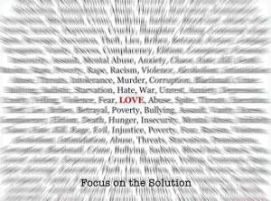 focus on the solution- Memoir Magazine Partners for change