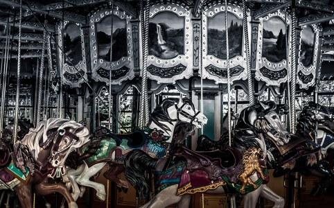 Featured Photograph: Fading Carousel By Toni Bennett