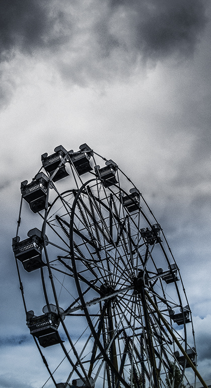 Photograph: Ferris Wheel By Toni Bennett