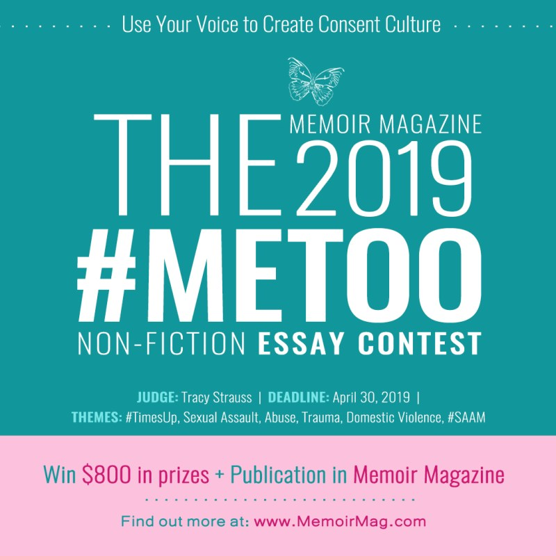 The 2019 #METOO Trigger Warning Nonfiction Essay Contest Win