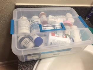 My new med box....