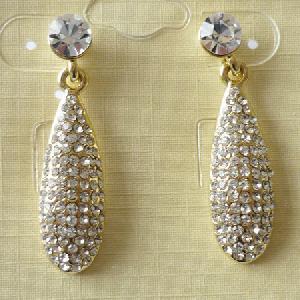 34178-Gold-Plated-Tone-Stick-Rhinestone-Earrings-Elegant-Women-Cubic-Zirconia-Jewelry-Earrings-Factory-Usa-1