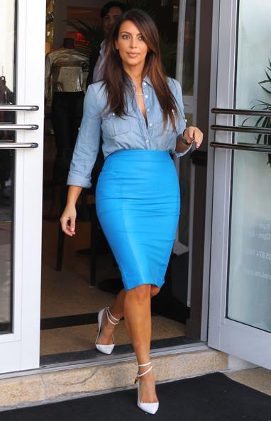 Kim+Kardashian+Dresses+Skirts+Pencil+Skirt+0OzEfltiplSl